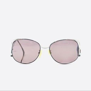 Vintage Caress Silver Butterfly Sunglasses Frames